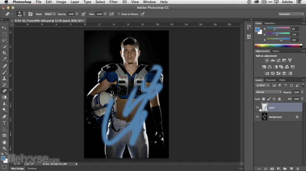 photoshop pour mac