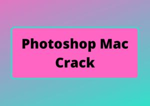 photoshop mac crack