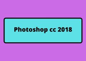 photoshop cc 2018 gratuit