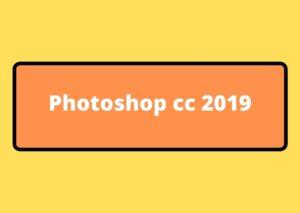 photoshop cc 2019 gratuit