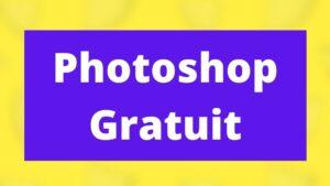 photoshop gratuit